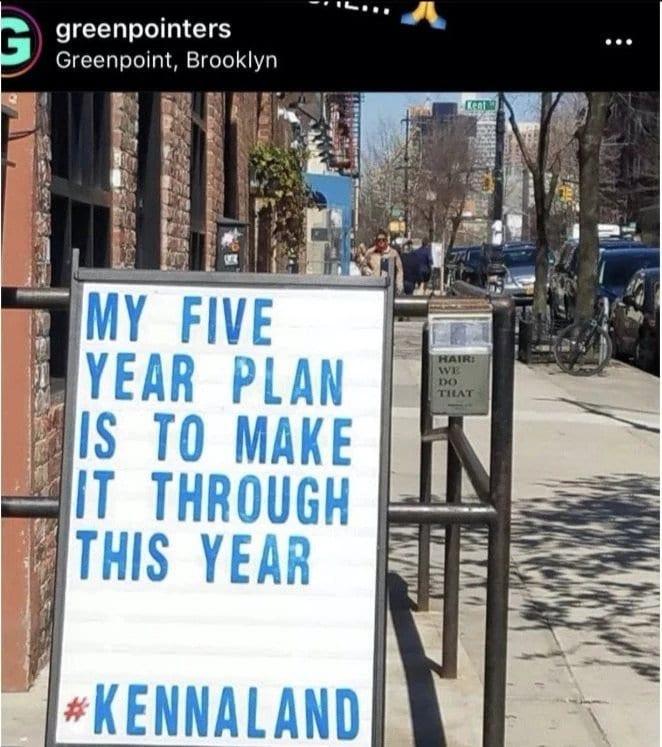Five year plan meme