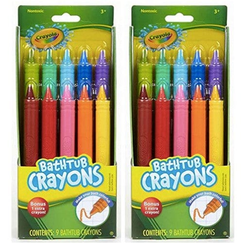 Crayons two packs