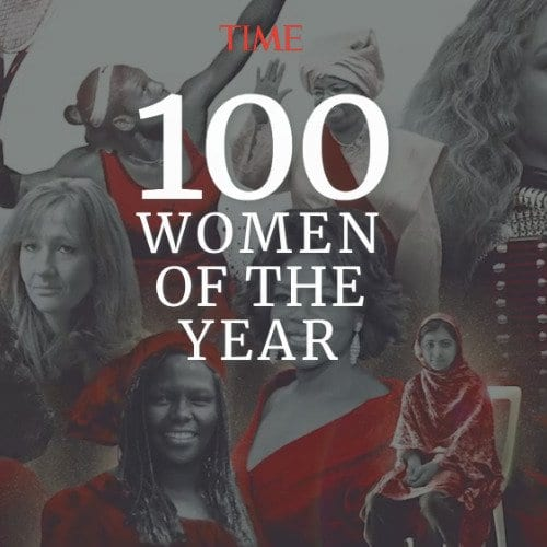 Time 100 women of the year cover