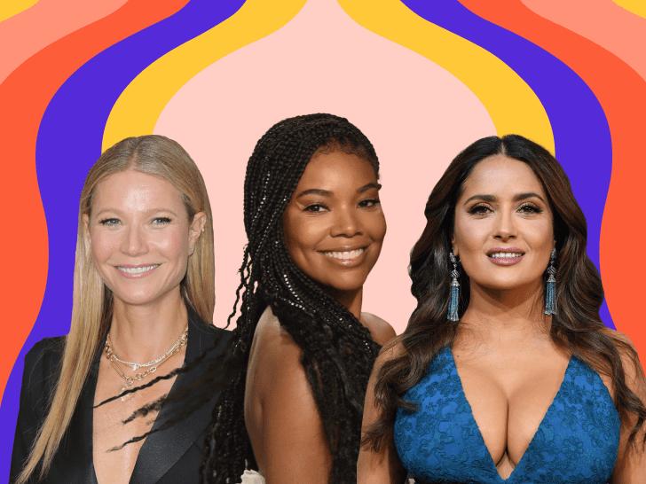 Gwyneth Paltrow, Gabrielle Union, Salma Hayek